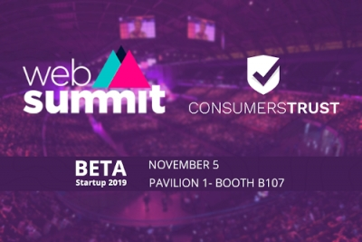 Consumers Trust arranca no Web Summit'19